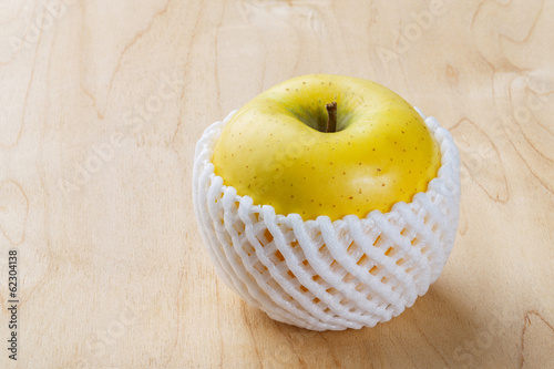 Toki Japanese apple with fruit protection foam