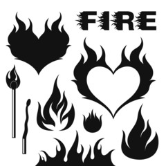 Fire. Set