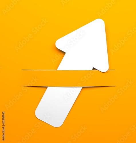 Background with arrow