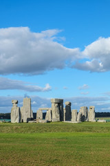 Stonehenge in sunny day