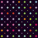 Stars pattern. Vector illustration