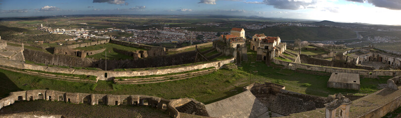 Fort in Elvas panoramic