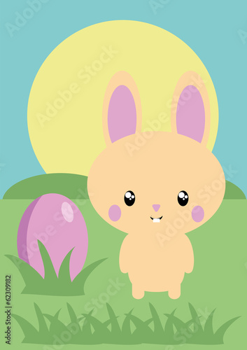 Osterhase Ostern Illustration