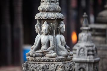 Buddha statue in Kathmandu city, Nepal