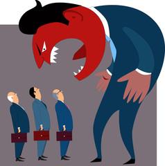 Anger management problems