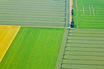 Felder aus der Luft - Deutschland