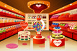 Grocery store: candy section - 62311305
