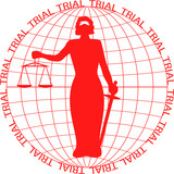 Themis court stands in the globe