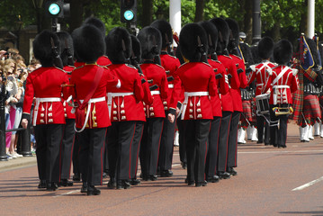 Cambio da guarda,  Buckingham Palace