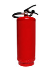 Fire extinguisher isolated on white background