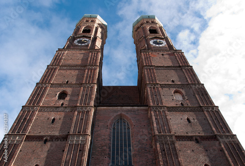 Photo of the Frauenkirche, Munich, Germany