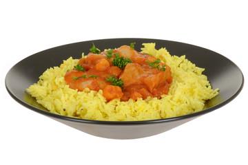 Goan Prawn and Fish Curry