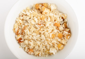 pilaf with raisins