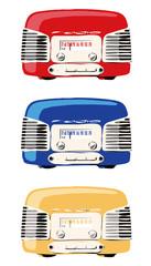 カラフルなラジオ