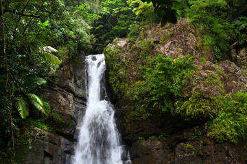 La Mina Falls Puerto Rico