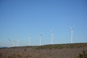 Parque eolico, aerogeneradores