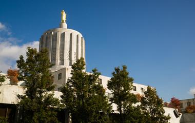 State Captial Salem Oregon Government Capital Building Downtown