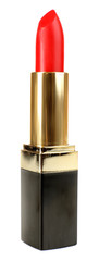Beautiful lipstick isolated on white