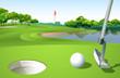 A golf course - 62323994