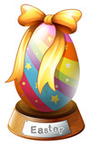An Easter egg trophy