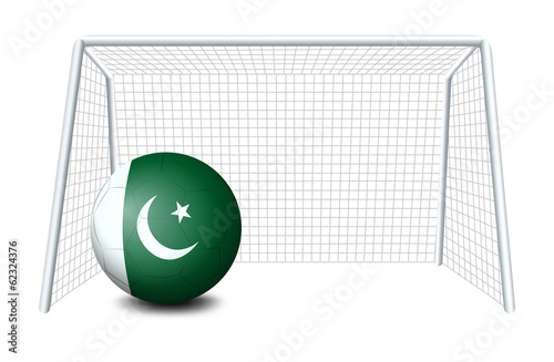 A soccer ball from Pakistan