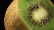Close-up of kiwi rotating. Find similar clips in our portfolio.