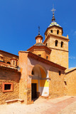 Day view of church in Albarracin