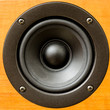 Closeup of loudspeaker - 62325308