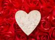Love forever. Heart shape make of tree bark