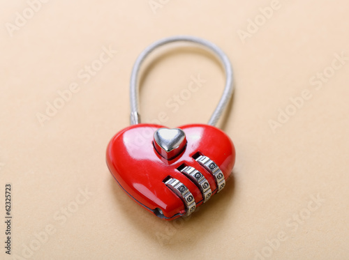 heart shape lock