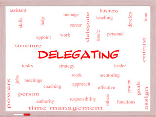Delegating Word Cloud Concept on a Whiteboard