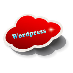 Nube roja wordpress