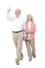 .Portrait of senior couple.