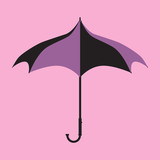 Purple Gothic Umbrella