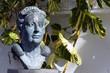 Leinwanddruck Bild - Agatha Christie Denkmal