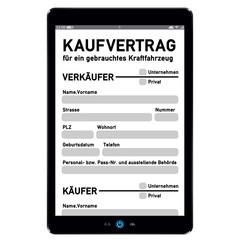 kfz kaufvertrag online - g588