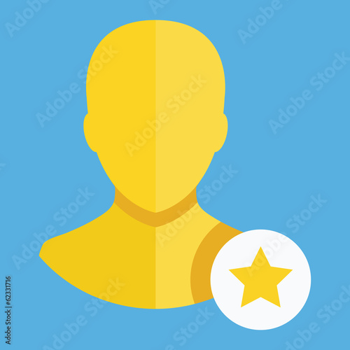 Vector Following Account Icon
