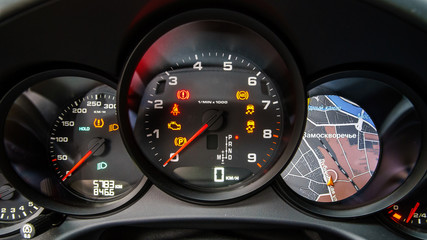 Speed control dashboard