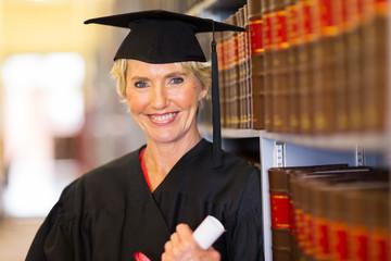 middle aged female law school graduate