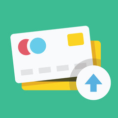 Vector Put Credit Card Icon