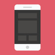 Vector Smartphone Responsive Web Design Icon