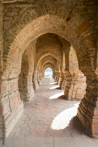 Arches of Rasmancha temple - Bishnupur, India