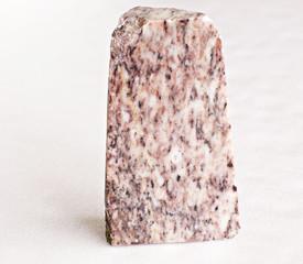 Ural's stone -  marble on white