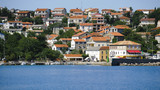 Panorama colour image of Croatia, Kvarner, Krk Island, Silo