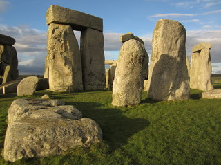 Close up of Stonehenge