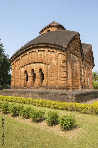 Jor-Bangla Temple or Keshta Roy Temple - Bishnupur, India