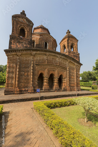 Pancha Ratna Temple of Shyam Rai - Bishnupur, India