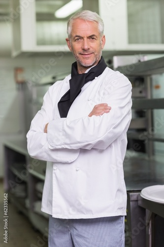 Confident chef looking at the camera