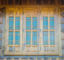Fenêtre bois ancien