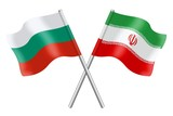 Flags: Bulgaria and Iran